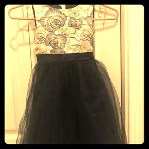 Other - Navy Blue and Cream girls party dress